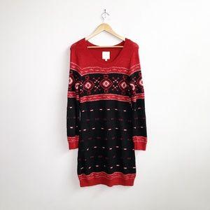 ModCloth : Apple Cider Toast Sweater Dress 1X